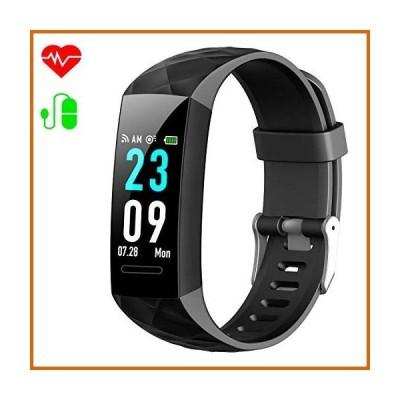 送料無料 Xooparc Fitness Tracker, Heart Rate Monitor Activity Tracker Fitness Watch with IP67 Waterproof, Smart Bracelet with Step Calor