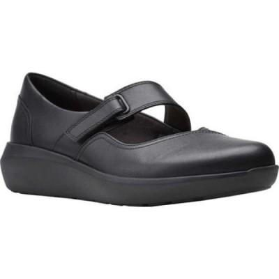 クラークス Clarks レディース シューズ・靴 Kayleigh Mill Mary Jane Black Leather