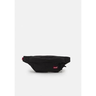 リーバイス ボディバッグ・ウエストポーチ メンズ バッグ MEDIUM BANANA  BATWING - Bum bag - regular black