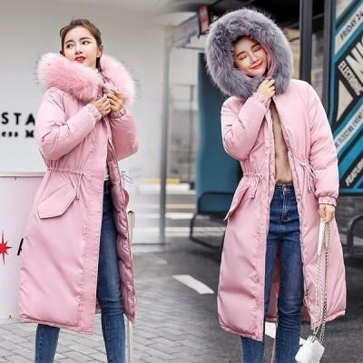 中綿コートレディース2020冬新品ダウンコートレディースロングコート中綿コート大きいサイズゆったりアウター