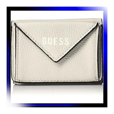 ベージュ ゲス 三つ折り財布 LILA 並行輸入品