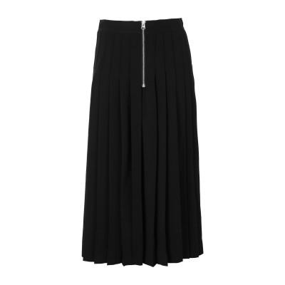 カルバン クライン CALVIN KLEIN 7分丈スカート ブラック 32 ポリエステル 94% / ポリウレタン 6% 7分丈スカート