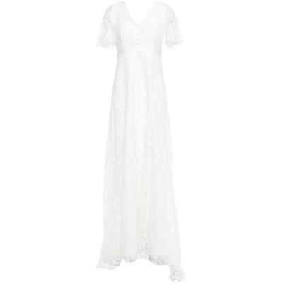 Y.A.S. ロングワンピース&ドレス ホワイト XS ナイロン 100% / コットン ロングワンピース&ドレス