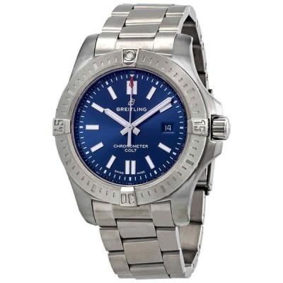 ブライトリング 腕時計 Breitling Chronomat クロノマット Colt コルト Automatic Chronometer Blue Dial メンズ 44 mm Watch