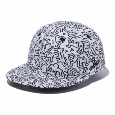 ニューエラ NEW ERA RC 9FIFTY Keith Haring キース・へリング オールオーバープリント ホワイト