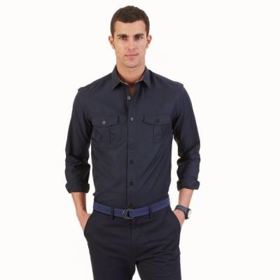カジュアルシャツ ノーティカ Nautica メンズ スリム Fit Utility Shirt