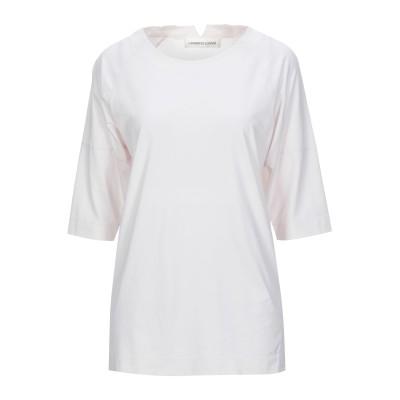 ランベルト・ロザーニ LAMBERTO LOSANI T シャツ ライトピンク 38 コットン 92% / ポリウレタン 8% T シャツ