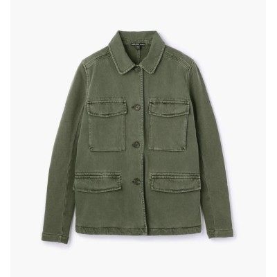 【トゥモローランド/TOMORROWLAND】 コットンジャージー サープラスジャケット WDNW2417