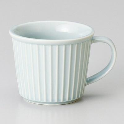 和食器 ブルーレリーフ マグカップ 小 コーヒー 珈琲 紅茶 カフェ おしゃれ 陶器 うつわ おうち 軽井沢 春日井 ギフト