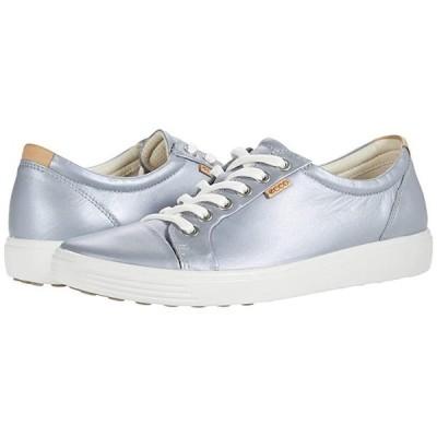 エコー Soft 7 Sneaker レディース スニーカー Silver Grey Metallic