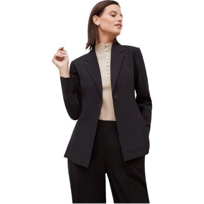 エムエムラフルール M.M.LaFleur レディース ジャケット アウター Moreland Jacket - Origami Suiting Black