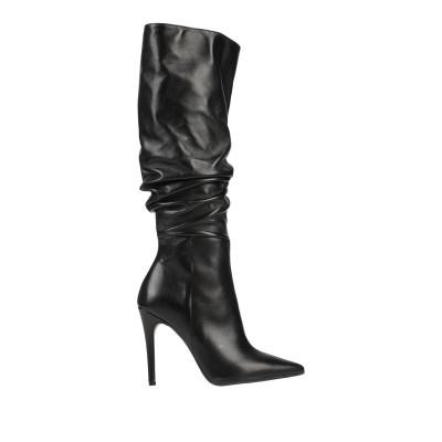 DIVINE FOLLIE ブーツ ブラック 37 紡績繊維 ブーツ