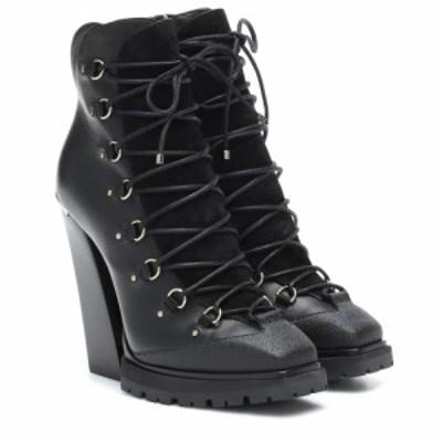 ジミー チュウ Jimmy Choo レディース ブーツ ショートブーツ シューズ・靴 Madyn 130 leather ankle boots Black