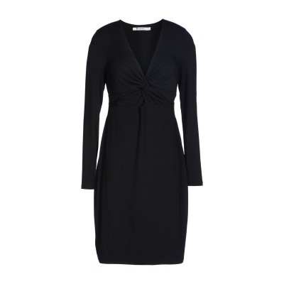ALEXANDERWANG.T ミニワンピース&ドレス ブラック XS レーヨン 95% / ポリウレタン 5% ミニワンピース&ドレス
