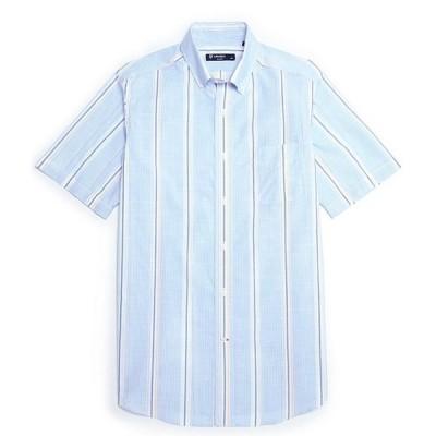 ダニエル クレミュ メンズ シャツ トップス Boucle Poplin Plaid Multi-Color Short-Sleeve Woven Shirt
