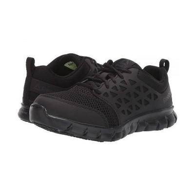 Reebok Work リーボック レディース 女性用 シューズ 靴 スニーカー 運動靴 Sublite Cushion Work Soft Toe SD - Black