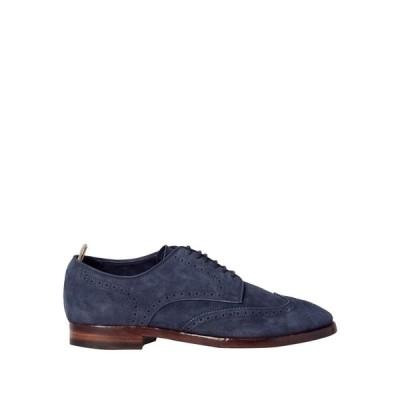オフィチーネ クリエイティブ OFFICINE CREATIVE ITALIA メンズ シューズ・靴 laced shoes Dark blue