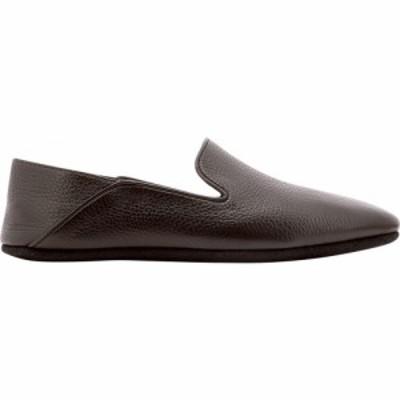 ファルファーラ Farfalla メンズ スリッパ シューズ・靴 Deerskin Slippers Brown