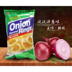 韓國【農心】經典洋蔥圈10包組;2種口味任選(原味/辣味)