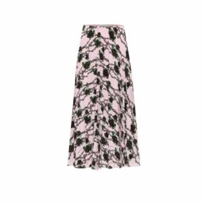 ヴァレンティノ Valentino レディース ひざ丈スカート スカート x UNDERCOVER silk midi skirt