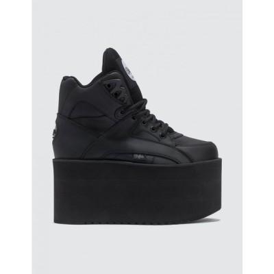 バッファロー Buffalo London レディース スニーカー シューズ・靴 High Tower Sneakers Black