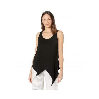 Karen Kane カレンケーン レディース 女性用 ファッション ブラウス Asymmetric Knit Top - Black