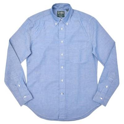 GITMAN VINTAGE(ギットマン ヴィンテージ)コットン シャンブレー ボタンダウンカラーシャツ