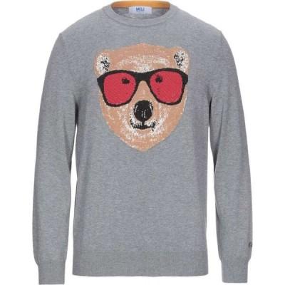 MQJ メンズ ニット・セーター トップス Sweater Grey