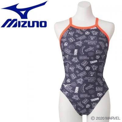 ミズノ スイム 競泳練習用 【MARVEL】 ミディアムカット レディース N2MA079007