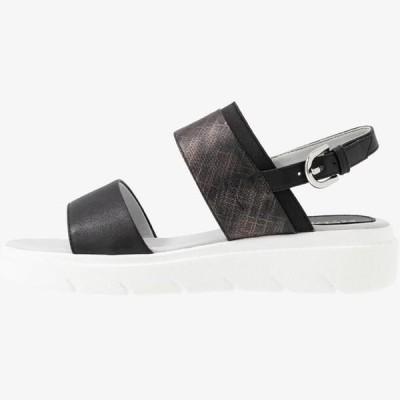 ジェオックス レディース サンダル Platform sandals - black