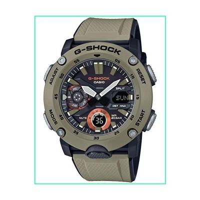Men's Casio G-Shock Analog-Digital Carbon Core Guard Beige Resin Band Watch GA2000-5A並行輸入品