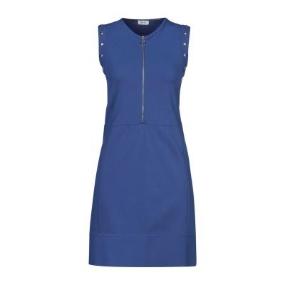 リュー ジョー LIU •JO ミニワンピース&ドレス ブルー S レーヨン 65% / ナイロン 32% / ポリウレタン 3% ミニワンピース&