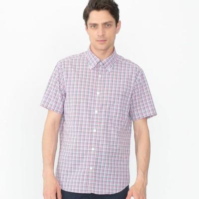 BEZチェック半袖シャツ