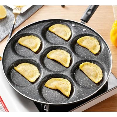 調理器具 キッチンツール フライパン 卵 パンケーキ 片手鍋 麦飯石 IH対応 ガス火使用可能 お手入れが簡単
