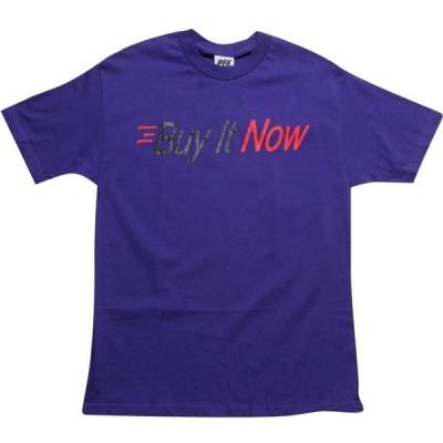 プレイングフォーキープス Playing For Keeps メンズ Tシャツ トップス Buy It Now Tee purple