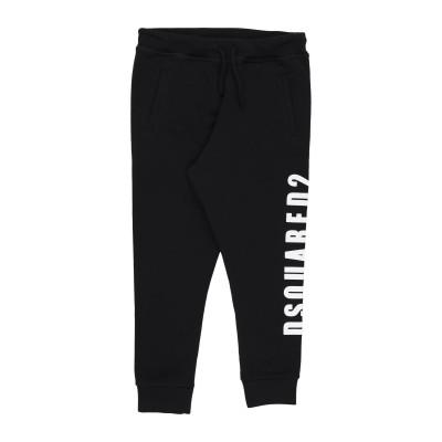 ディースクエアード DSQUARED2 パンツ ブラック 10 コットン 100% / ポリウレタン パンツ