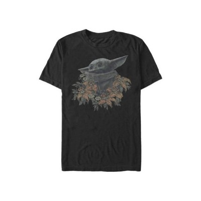 フィフスサン メンズ Tシャツ トップス Star Wars The Mandalorian Flower Child T-Shirt