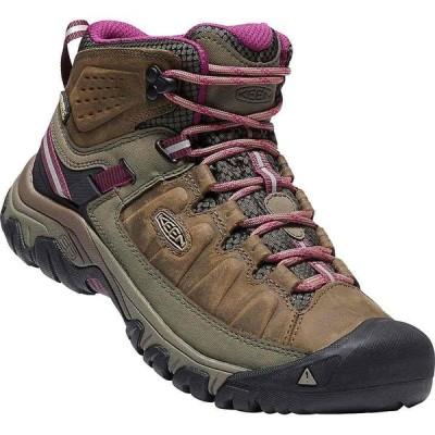キーン KEEN レディース ハイキング・登山 ブーツ シューズ・靴 Targhee 3 Rugged Mid Height Waterproof Hiking Boots Weiss/Boysenberry