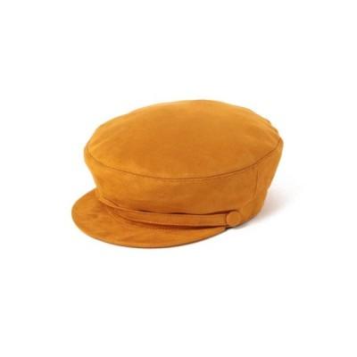 帽子 キャスケット GRILLO / エコスエード マリンハット