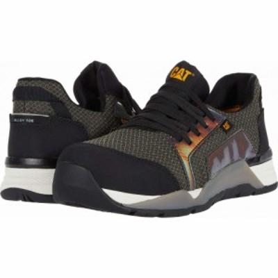 キャピタラー カジュアル Caterpillar レディース シューズ・靴 Sprint Textile Alloy Toe Black
