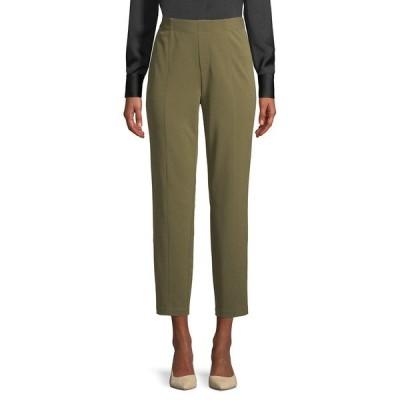 エイチ ホルストン レディース カジュアルパンツ ボトムス Slim Ankle Seamed Pull-On Pants Wild Sage