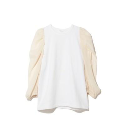 tシャツ Tシャツ ソデシアーデザインカットソー932713