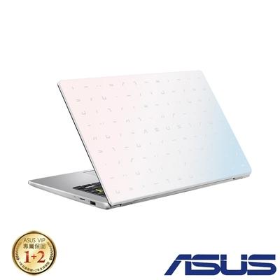 ASUS E410MA 14吋筆電 (N5030/8G/256G SSD/LapTop/夢幻白)