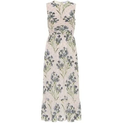 レッド ヴァレンティノ REDValentino レディース ワンピース ミドル丈 ワンピース・ドレス floral silk midi dress Rose