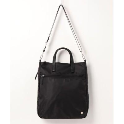 SAC / デニム調合皮タッセルチャーム付きハンドバッグ  Happy&Sac WOMEN バッグ > ハンドバッグ