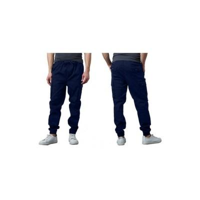 ギャラクシーバイハルビック メンズ カジュアルパンツ ボトムス Men's Slim Fit Classic Cotton Stretch Cargo Joggers