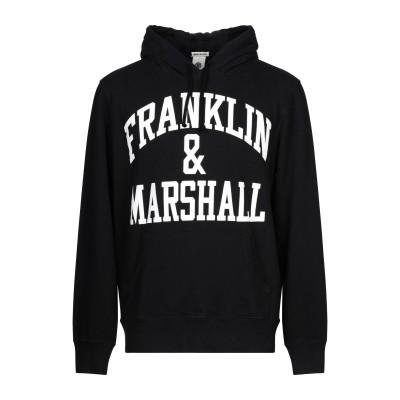 フランクリン & マーシャル FRANKLIN & MARSHALL スウェットシャツ ブラック M コットン 100% スウェットシャツ