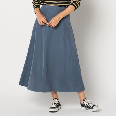 FREDY&GLOSTER ポプリンマキシフレアスカート