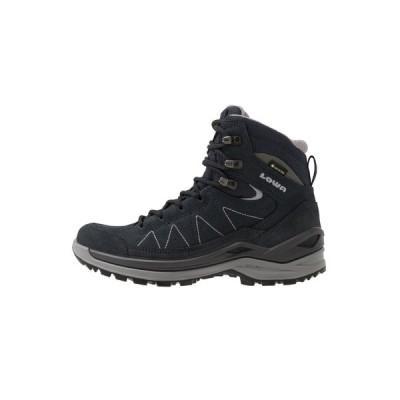 ロア シューズ レディース ハイキング TORO EVO GTX MID - Hiking shoes - navy