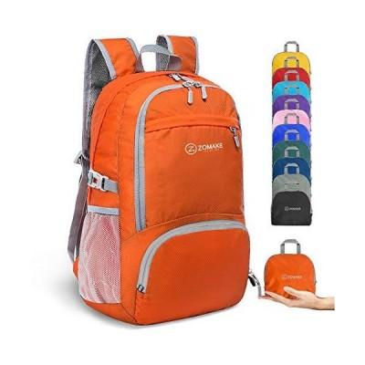 全国送料無料!ZOMAKE 30L軽量パックバックパック防水ハイキングデイパック、小型旅行バックパック折り